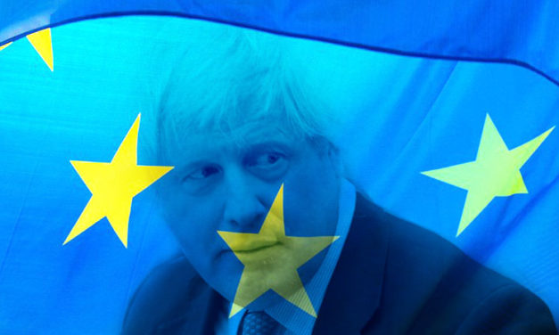 BORIS JOHNSON AND STORMY BREXIT