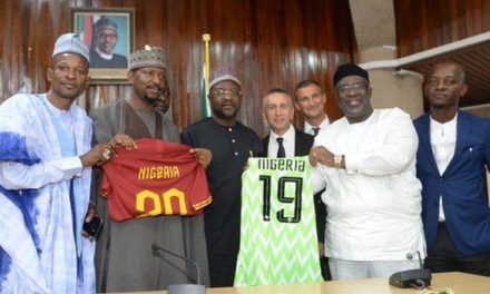 NFF First African Federation to Partner Italian Serie A Giants As Roma