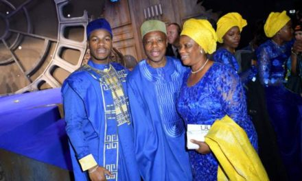 John Boyega Proud to Wear Agbada to Star Wars Premiere