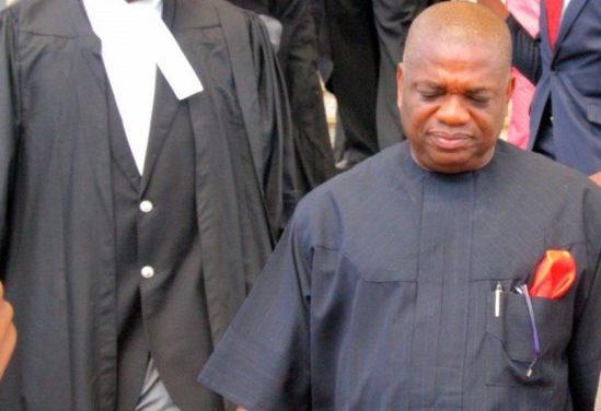 Senator Kalu Weeps as He Gets 12 Years Prison Sentence