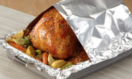 ALUMINIUM FOIL DANGEROUS FOR WRAPPING FOOD