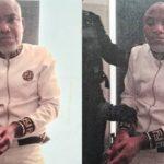 Forlorn Looking Nnamdi Kanu in Nigeria's Handcuffs