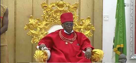 Gov Obaseki Set Against Benin Monarchy Over Artefacts